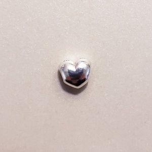 Authentic Pandora Retired Big Smooth Heart Charm ❤